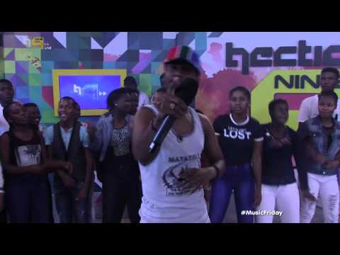 Emtee performs Pearl Thusi - Live Performances