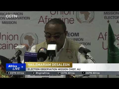 AU observer gives positive initial assessment