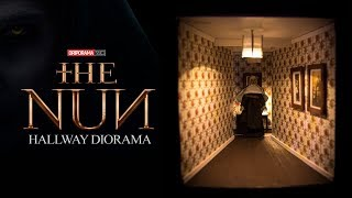 neca the nun hallway diorama vlog125