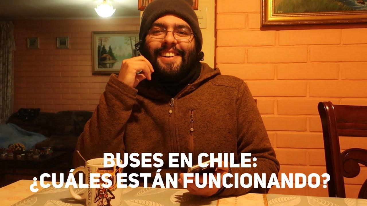 CHILE: ¿QUÉ BUSES ESTÁN FUNCIONANDO Y A QUÉ CIUDADES VAN? en estos meses (Junio 2020)