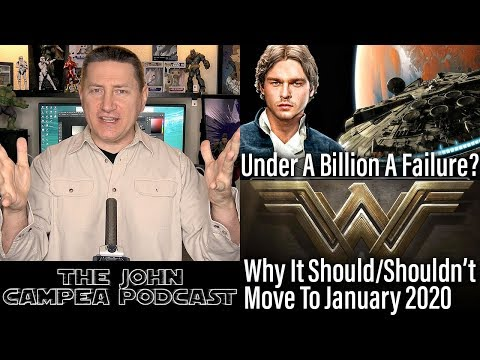 Is Han Solo A Flop Under A Billion?  Is January 2020 A Good Spot For Wonder Woman 2?