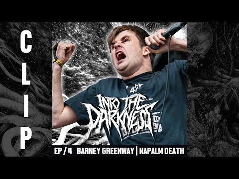 Barney Greenway are NAPALM DEATH the forefathers of Grindcore?