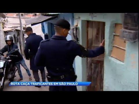 ROTA realiza operação de caça a traficantes em SP