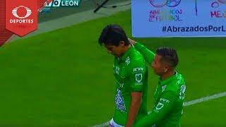Gol de José Juan | Chivas 1 - 1 León | Clausura 2019 - Jornada 16 | Televisa Deportes