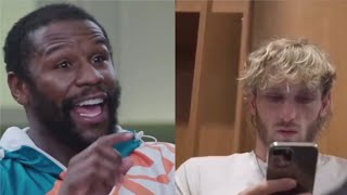 Jake Paul Finds Out He's Banned From The Fight And Floyd Responds To Jake For Stealing His Hat