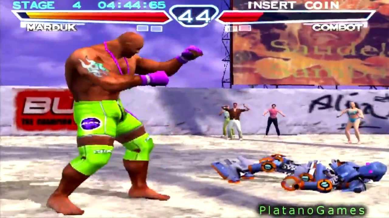 Tekken 4 Console Edition Steve Fox Craig Marduk Arcade