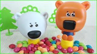Мультики с игрушками Ми-ми-мишки ПРИКОЛИСТЫ! Корова поёт песенки для детей