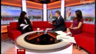 Interview with Loreen on BBC Breakfast