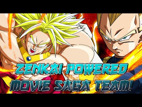 Movie's Tag Sent To A NEW LEVEL! Zenkai Boosted Movie Saga!   Dragon Ball Legends PvP