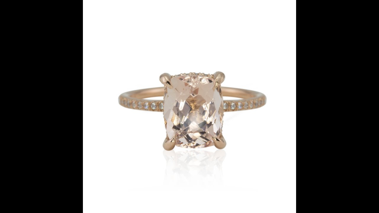 halo rings split available box metals rosy cushion other rosados promise gold band diamonds love morganite rectangular rectangle rose stones jewelers ring engagement and