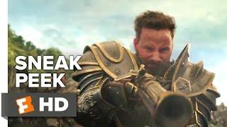 Warcraft Official Sneak Peek #1 (2016) - Dominic Cooper, Paula Patton Movie HD