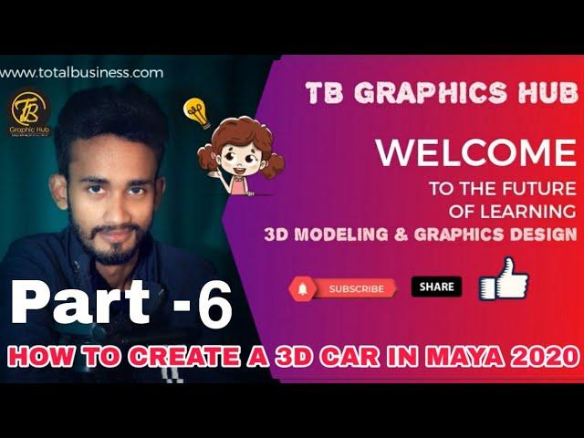 3D Car Modeling-Part-6
