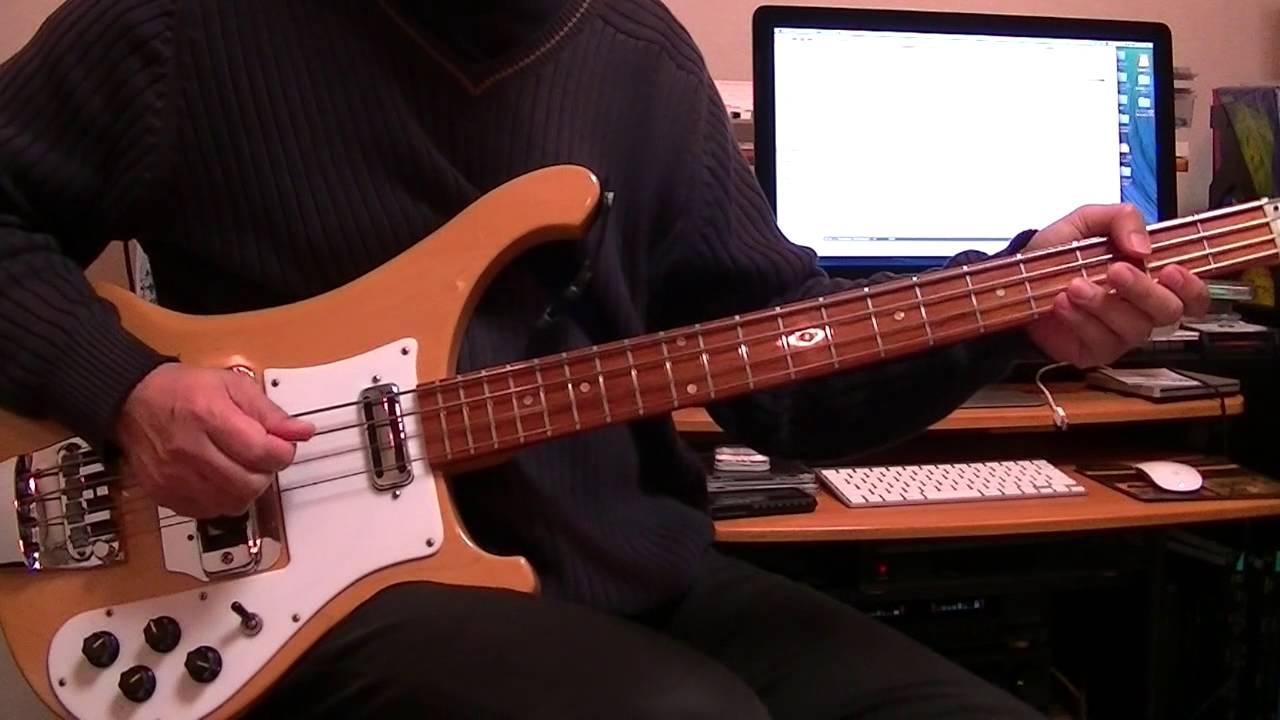 Oh Darling The Beatles Bass Cover Rickenbacker 4001