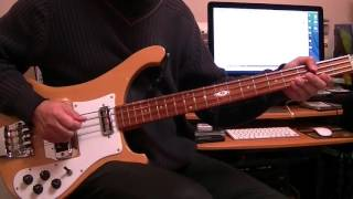 Oh Darling The Beatles Bass Cover Rickenbacker 4001