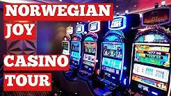 Norwegian Joy Cruise Ship Casino Tour