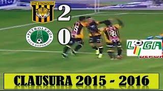 THE STRONGEST 2 vs Petrolero 0, Relato Quique Rivera, Clausura 2015 - 2016