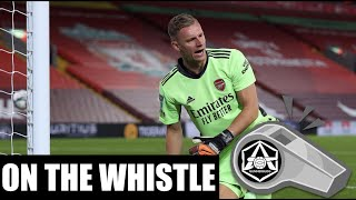 On the Whistle: Arsenal 00 Crystal Palace  'Adjusting to reality'