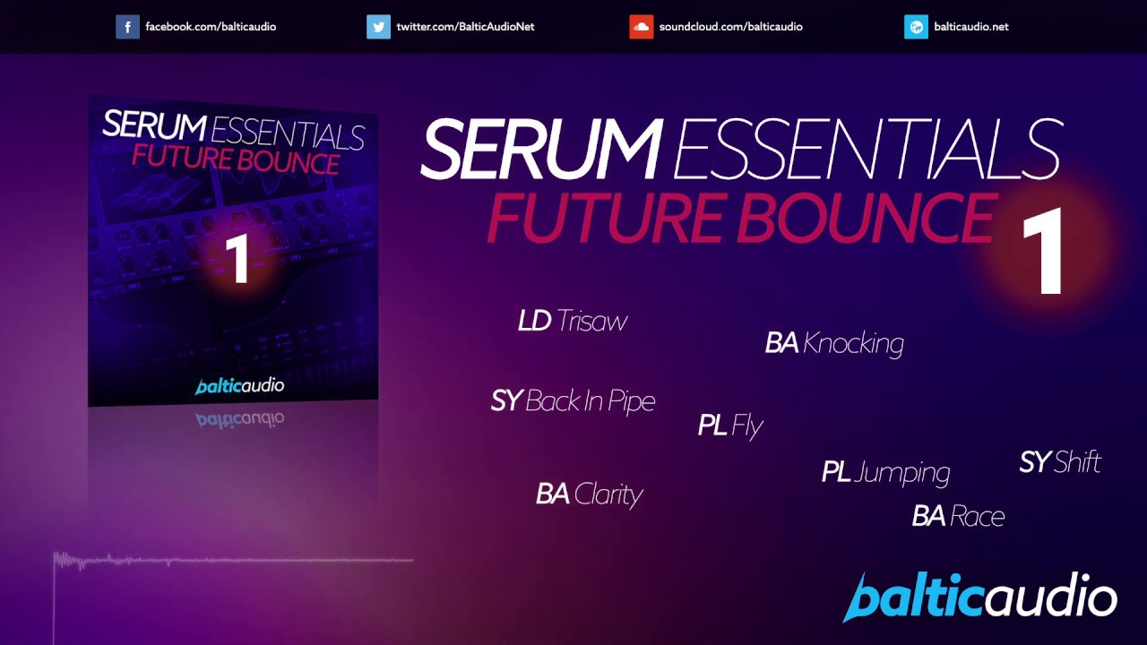 Serum Essentials Vol 1 - Future Bounce (65 Serum presets, 25 MIDI files)
