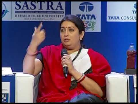 Union Minister Smriti Irani's address at Think Edu Conclave