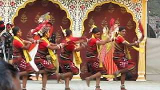NORTH- EAST INDIA FOLKLORIC DANCING AT SURAJHKUND MELA