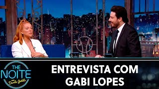 Entrevista com Gabi Lopes | The Noite (08/11/19)