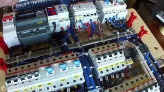 Cs-Cs: (Полная версия) Силовой щит в Мурманск на EDF-панели с автоматикой освещения на Siemens LOGO