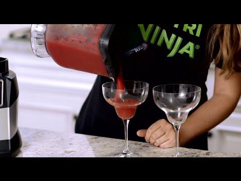 RECIPE: Strawberry Margarita in the 72 oz. Ninja® Blender Pitcher