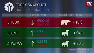 InstaForex tv news: Who earned on Forex 19.09.2019 15:30