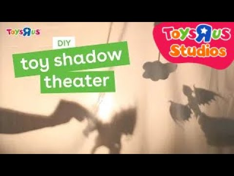 Make A Toy Shadow Theater DIY For Kids