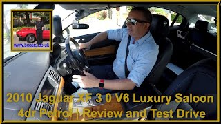 Review and Virtual Video Test Drive of our Jaguar XF 3 0 V6 Luxury Saloon 4dr Petrol