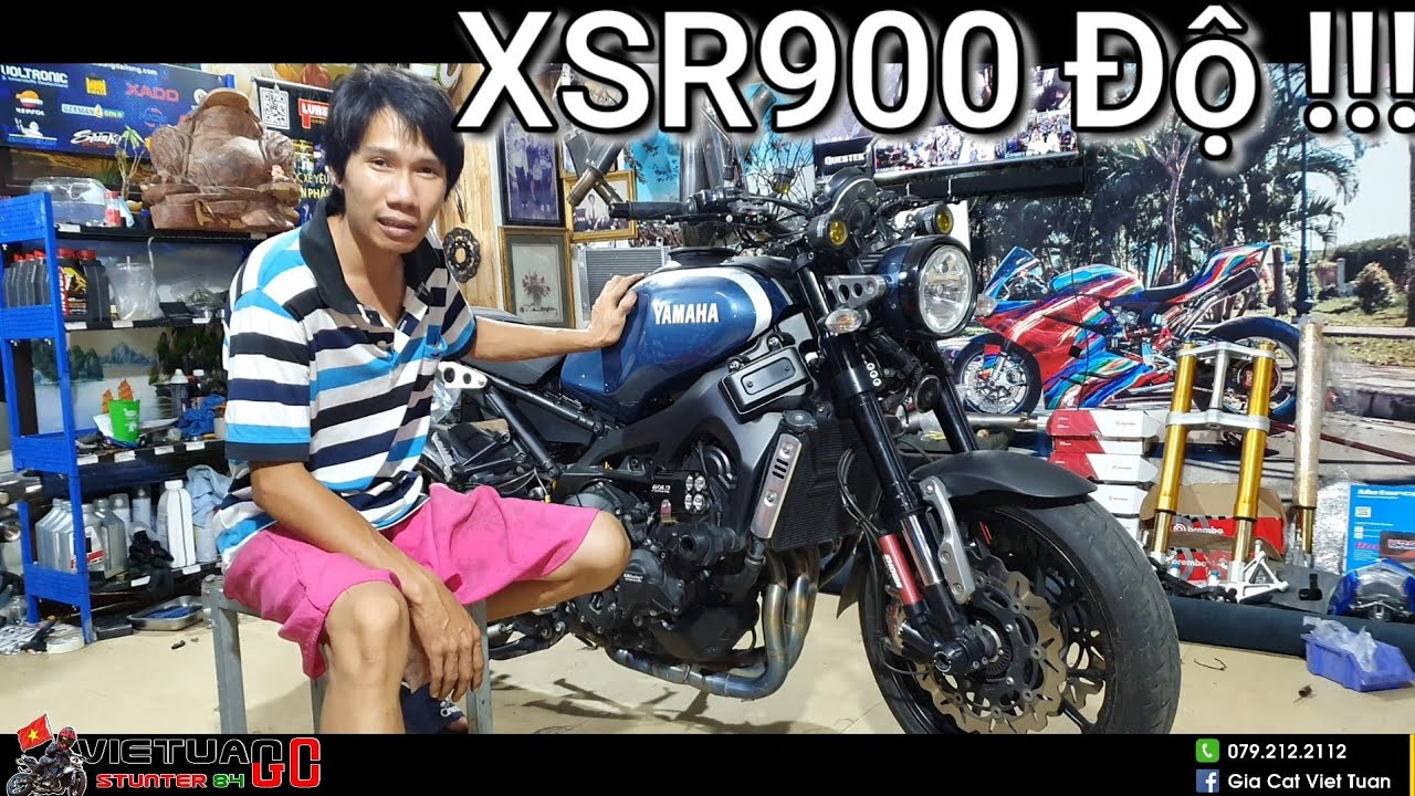 XSR900 Độ 100 Triệu dàn chân Zx10rr, Heo Brembo Niken GP4 RX !!! Kỹ Sư Hẻm