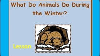 Hibernating and Migrating Animals -for Kids of Kindergarten,Preschoolers,Toddlers