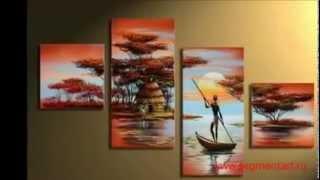 Что такое сегментированные (модульные) картины?(Из данного видео вы узнаете о разнообразии модульных картин, которые можно заказать в интернет-магазине..., 2013-05-30T10:57:18.000Z)