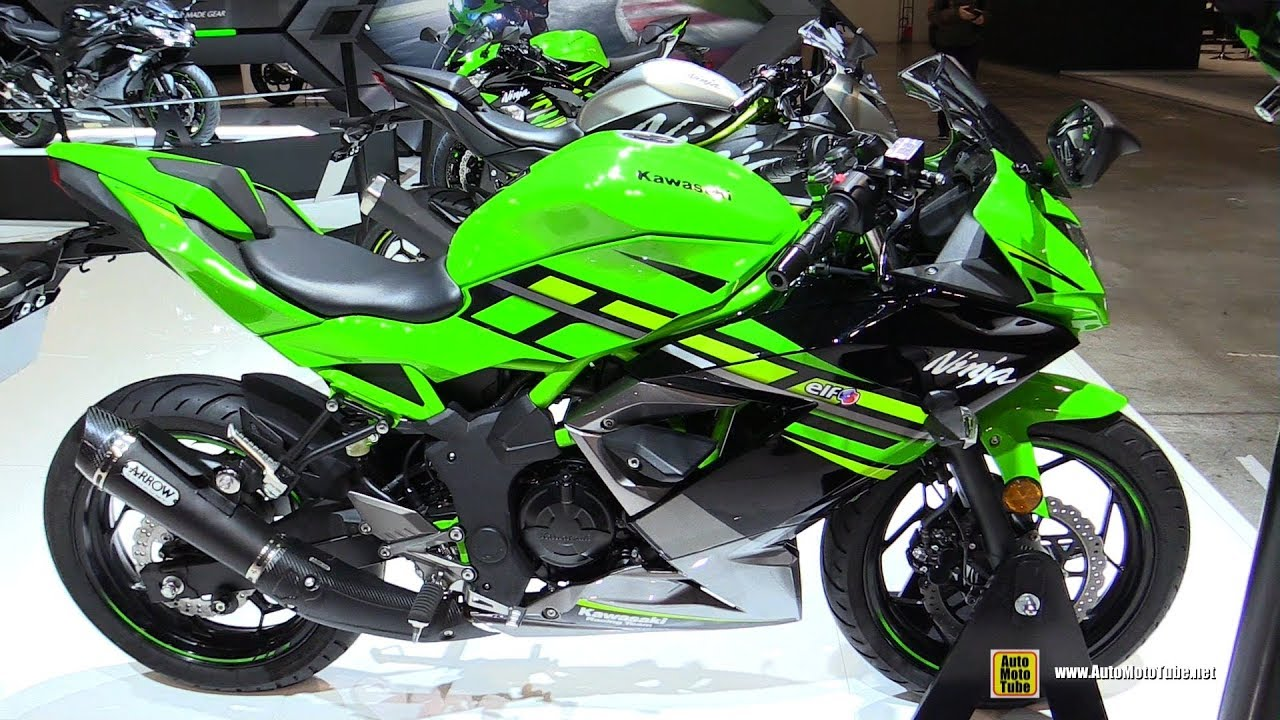 125 2019 kawasaki ninja 125 walkaround debut at 2018 eicma milan 125cc motorcycle 2019 kawasaki ninja 125 walkaround