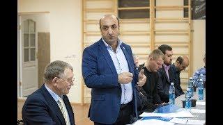 Выборы президента Федерации тяжелой атлетики НСО