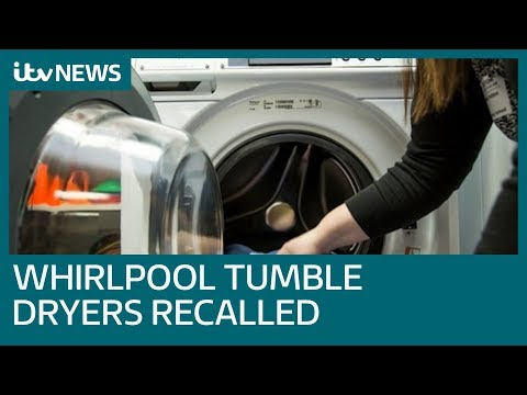 Creda Tumble Dryer Recall >> Whirlpool Tumble Dryers Recalled In Thousands Itv News Youtube
