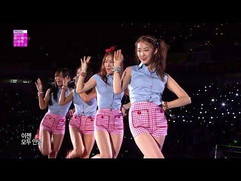 【TVPP】SISTAR - Loving U, 씨스타 - 러빙유 @ Korean Music Wave in Bangkok Live