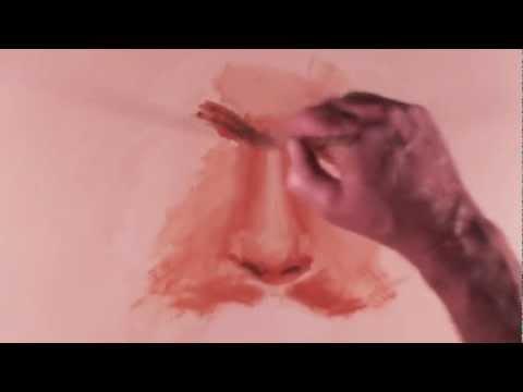 Paint A Man's Nose