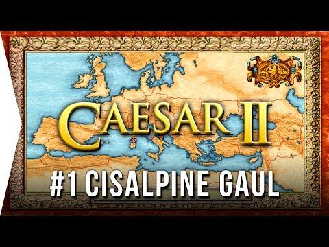 Caesar II ► Mission 1 Cisalpine Gaul - Classic Retro City-building Nostalgia - [Let's Play Game]