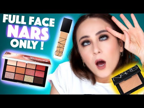 I`M DEAD☠️ | Full Face Using Only NARS COSMETICS Makeup | Hatice Schmidt