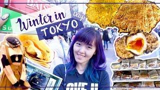 Winter in Tokyo DAY 1 - DIY Okonomiyaki, Shibuya & Harajuku Shopping | Travel Vlog