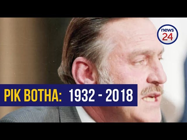WATCH: The life and times of Pik Botha