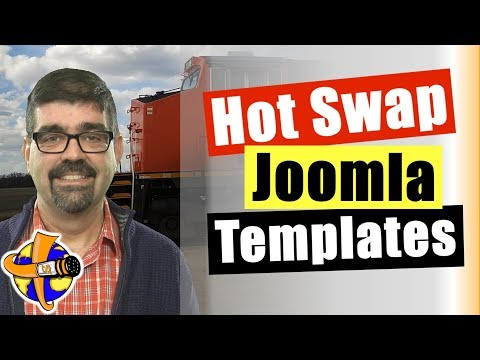 How To Customize And Shape A New Template On A Live Joomla Site ✅ - How To Change Joomla Templates