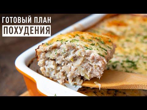 Рацион Питания для Похудения! Вкусное и Сбалансированное Меню на 1400 ккал! Ешь и Худей!