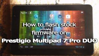 видео Прошивка Планшета Prestigio Multipad 2 pro duo 7.0