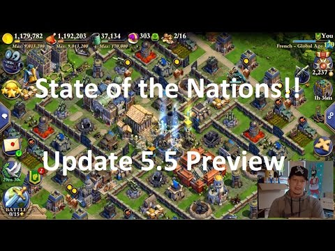 Dominations - Update 5.5 Preview - State of the Nations - Cheesy 5* War Attack