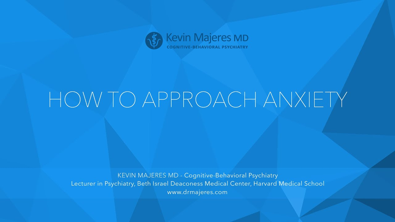 Kevin Majeres MD | Cognitive-Behavioral Psychiatry