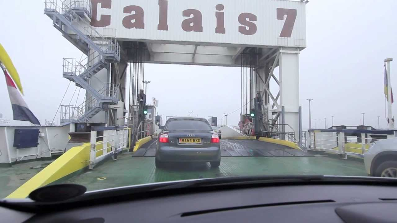 London To Paris By Ferry Youtube
