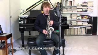 128 notes per octave on Alto Saxophone - Philipp Gerschlauer