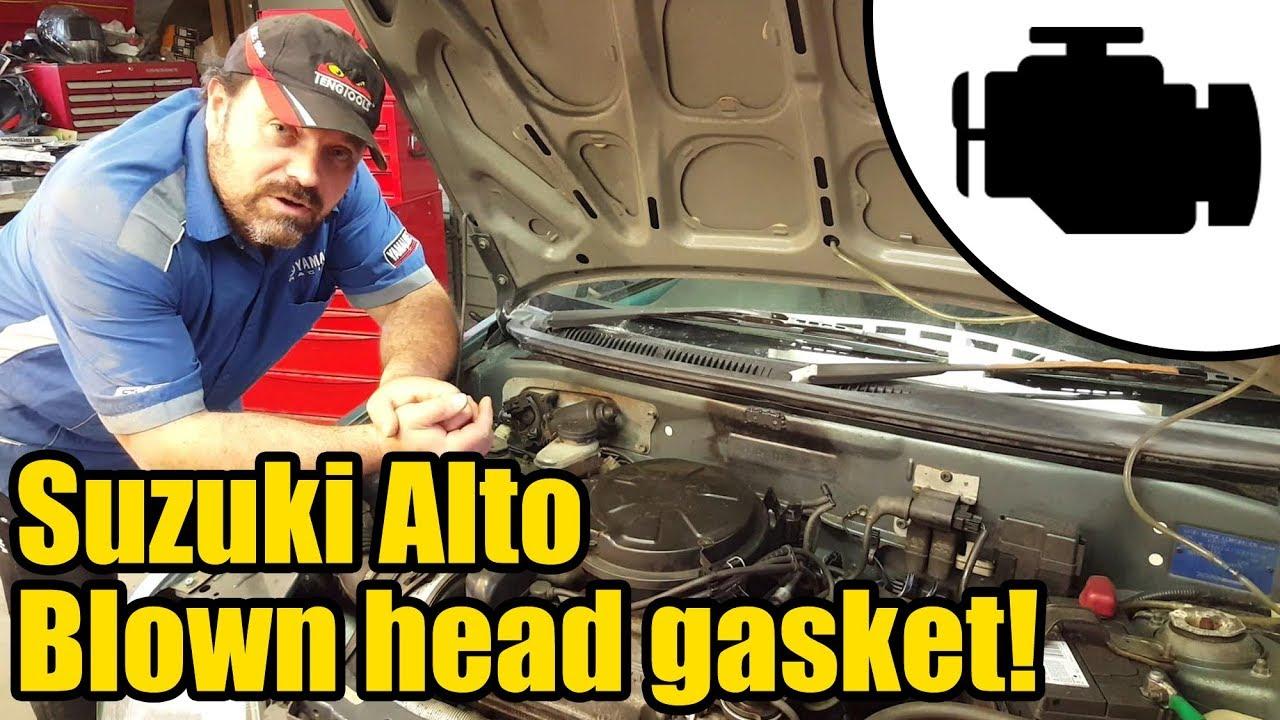 Suzuki Alto 660cc tripple Head gasket replacement #1162